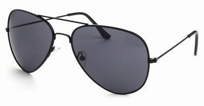8b2c93b2ec0a7c Piloten zonnebril zwarte glazen goedkoop online kopen