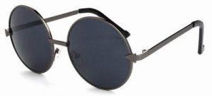 John Lennon zonnebril zwarte glazen