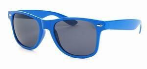 Wayfarer zonnebril blauwe