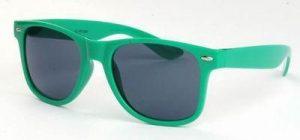 Wayfarer zonnebril groene