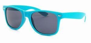 Wayfarer zonnebril turquoise