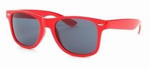 Wayfarer zonnebril rood rode