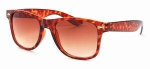 Wayfarer zonnebril schildpad print