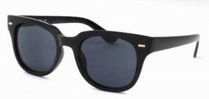 Zonnebril zwart glans Wayfarer