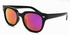 Spiegelglas zonnebril paarse Wayfarer