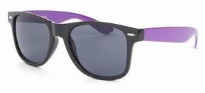 Wayfarer Two Tone zonnebril zwart paars